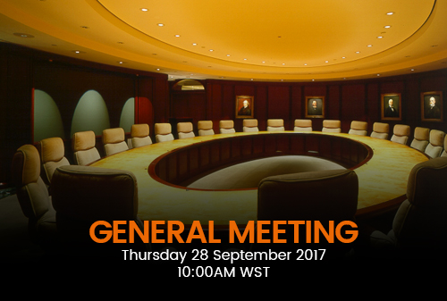 Notice of Extraordinary General Meeting